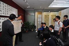 書法展參觀人士 - photo 7