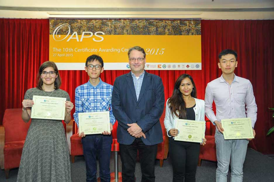 The Outstanding Academic Papers by Students Certificate Awarding Ceremony - photo 13