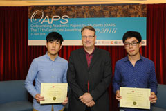 The OAPS Certificate Awarding Ceremony - Group Photo