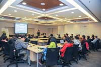 Talk by Prof. Wang Tianyi