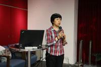 Talk by Dr Louisa Wei Shiyu