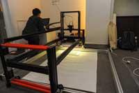 Setup Scanning Equipment by Mr. Peng Wang