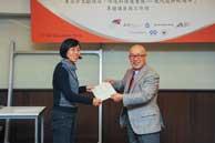 Mr. Chijo Onishi  Present Certificate to Ms. LV Ruihua