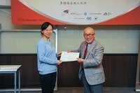 Mr. Chijo Onishi  Present Certificate to Mr. HAN Zijing